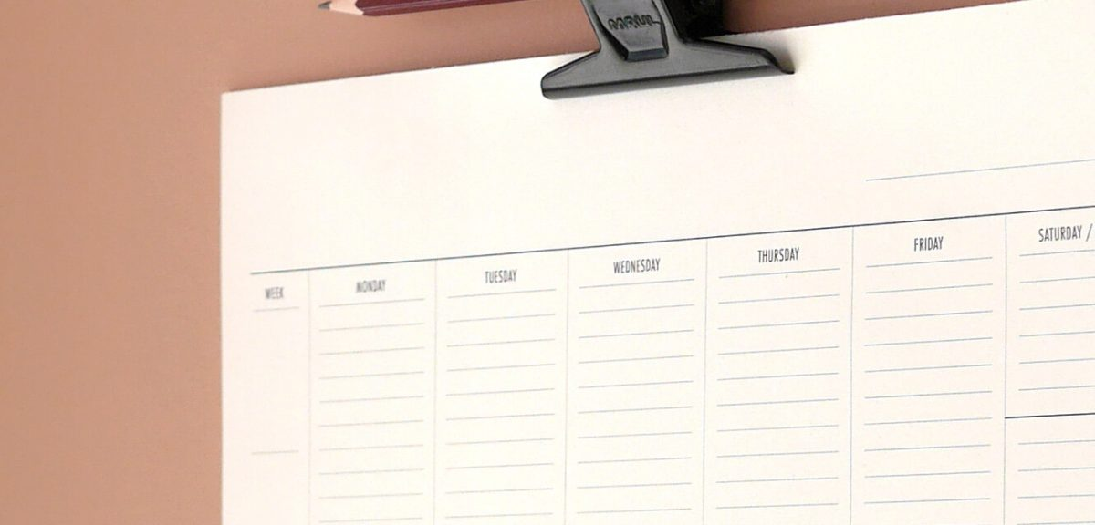 Personalized calendar are used for different ideas